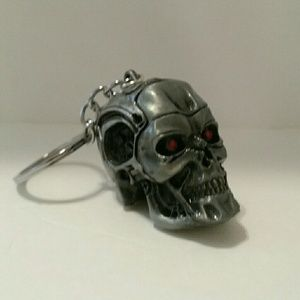 Other - Terminator 3D Skull Key chain Bag Accessories New